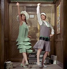 Thoroughly Modern Millie. Such a quirky awesome musical with Julie Andrews and Mary Tyler moore