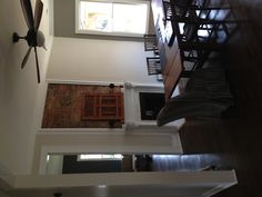Finished dining room fireplace