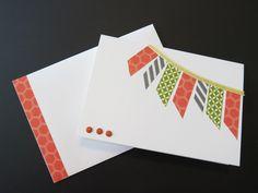 Washi Tape Greeting Cards – Part 2