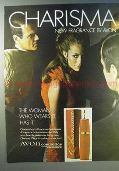 Avon Cosmetics – Charisma Fragrance (1968)