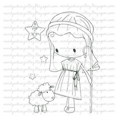 A Star Is Born by alldressedupstamps on Etsy