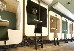 cabines de restaurante!