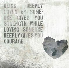 Strength and Courage Canvas Art