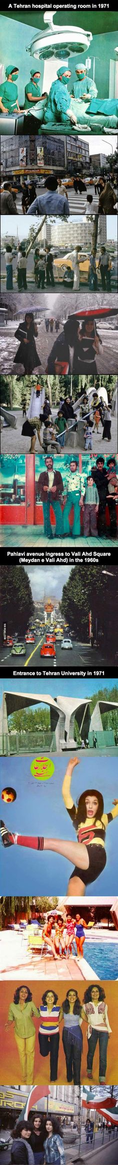 Rare Look At Iran in the 1960s and 1970s (35 Pics) - Atchuup! - Cool Stories Daily