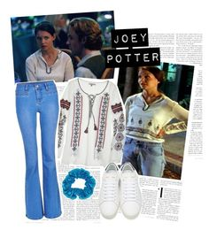Joey Potter - Outfit Inspiration - Season 1 by vilena-ferreira on Polyvore featuring moda, Calypso St. Barth and Yves Saint Laurent