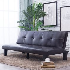 Futons are more lightweight, so they can easily be moved around a space and make moving apartments or houses a breeze