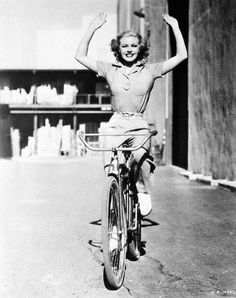 Ginger Rogers hand free!