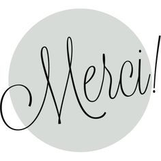 Merci. French-Paris. modern home decor, paris decor, eiffel... (€9,14) ❤ liked on Polyvore featuring home, home decor, wall art, text, words, quotes, fillers, backgrounds, circle and circular