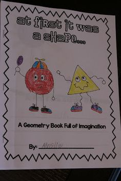 What Happens in First Grade: Adorable Geometry Book