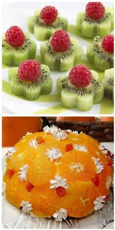 Fresh Fruit Food Art Recipe for Orange Dome? many other great ideas ~ translation… - Fresh Fruit Food Art Recipe for Orange Dome? many other great ideas ~ translation … – - Orange Recipes, Fruit Recipes, Cookie Recipes, Tea Recipes, Fruits Decoration, Dessert Aux Fruits, Food Carving, Food Garnishes, Garnishing