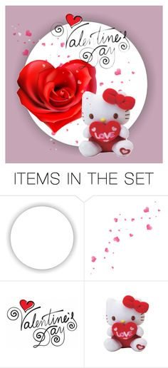 """Happy Valentine's Day everybody!"" by beautifulgirlsblog on Polyvore featuring art, valentinesday and polyfriends"