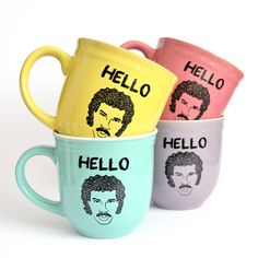 NEW Hello Is It Tea You're Looking For  Lionel by OwlandBrew, £11.50