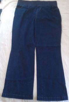 NICE!! Bootcut Jeans by New Additions Maternity Sz LARGE EUC!!!!   #NewAdditionsMaternity #BootCut