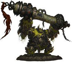 Golem Monster from Blade & Soul