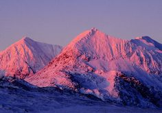 Snowdon & Cribgoch @ winter solstice... Capel Curig, Wales, United Kingdom.
