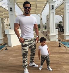 fb02508a 7 Best Father Son Matching Outfits images | Daddy, son, Father, son ...