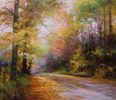 Szakács Éva: Út őszi lombok között - Vándorfény Galéria