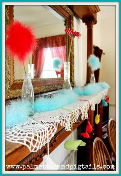 Dr. Suess Baby Shower - Palmettos and Pigtails