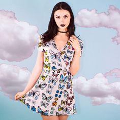 Flutter Wrap Dress by Valfre.com | Valfré