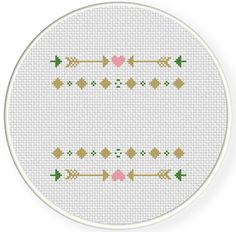 FREE for July 26th 2016 Only - Arrow Decorative Design Cross Stitch