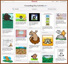 Pinterest Pinboard of the Week: Groundhog Day Activities for Therapy
