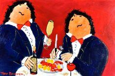Theo Broeren - Lobster diner
