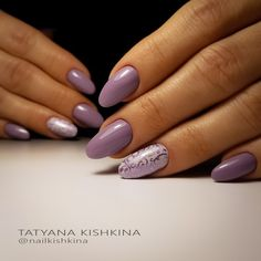 35 Simple Ideas for Wedding Nails Design Violet Nails, Purple Nails, Get Nails, Hair And Nails, Simple Wedding Nails, Shellac Nail Art, Nagellack Design, Nail Art Hacks, Manicure And Pedicure