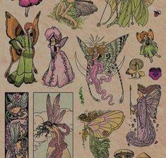 Pretty Art, Cute Art, Arte Sketchbook, Photocollage, Hippie Art, Fairy Art, New Wall, Aesthetic Art, Wall Collage