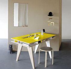 Cinco escritorios de diseño