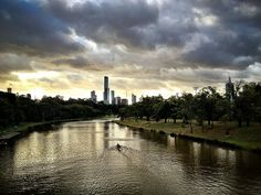 Rowing in melbourne