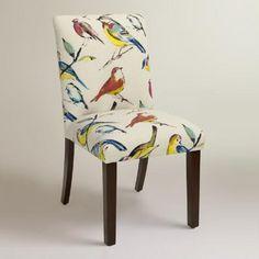 One of my favorite discoveries at WorldMarket.com: Bird Watcher Kerri Upholstered Dining Chair