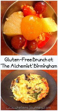 Gluten-Free 2 course Brunch at 'The Alchemist' Bar and Restaurant in Birmingham City Centre – Food Review by Helen's Journey Blog #food #glutenfree #glutenfreebrunch #restaurantreview #eatingout #diningout #birminghamuk #birminghamdining #glutenfreefoodinbirmingham #thealchemist #foodie #foodblog Healthy Drinks, Healthy Eating, Famous Cocktails, Birmingham City Centre, Brunch Items, Gluten Free Pancakes, Bread Bun, Food Out, Fun Cup