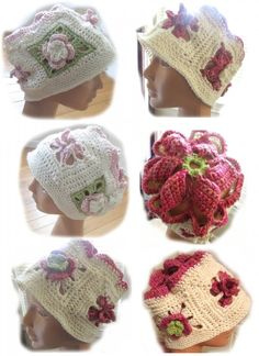 New #crochet hat pattern for sale from Akua Lezli Hope