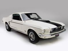 1968 Ford Mustang GT 428 Cobra Jet Fastback
