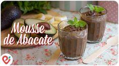 """""""Mousse de Chocolate"""" feito com Abacate - YouTube"""