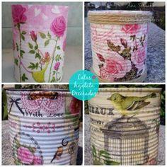 Así de fácil es reciclar y decorar las latas vacías. ¡Atentos!
