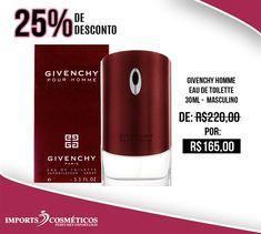 #OfertadoDia : Perfume Perfume Givenchy Pour Homme Masculino com 25% OFF. Aproveite essa oferta e compre sem sair de casa. ...................... Disponível em estoque acesse: nosso site:. LINK NA BIO ou https://ift.tt/2H63eeO ...................... WHATSAPP:  (17) 99247-6869 SAC:  (17) 32314768 ...................... #lojariopreto #riopreto #perfume #perfumeimportado #ofertadodia #perfumaria #perfumemasculino #givenchy #givenchypourhomme #givenchyperfume