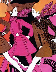 illustration by antonio lopez, 1967