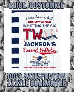 Shop Baseball Birthday Invitation Baseball Birthday created by PixelPerfectionParty. Personalize it with photos & text or purchase as is! Baseball Birthday Invitations, Baseball Birthday Party, Sports Birthday, Sports Party, 2nd Birthday, Star Party, Zazzle Invitations, Envelope Liners, Paper Texture