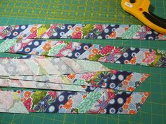 Note . . . I've gotten some comments that this isn't really scrappy binding. I agree. So I've revised this post and changed 'scrappy' to 'st...