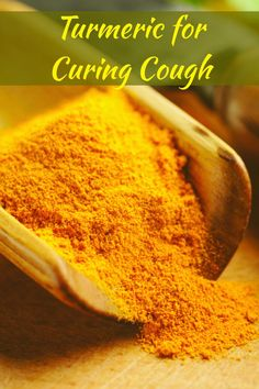 Turmeric for Curing Cough
