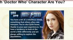Which companion are you? I was Amy.