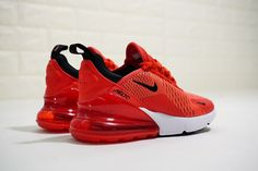 Where to buy Red Max 270 Habanero Red For Mens Size Nike Shoes Blue, Nike Shoes Outfits, Nike Air Shoes, Nike Air Max, Sneakers Nike, Cute Shoes, Me Too Shoes, Fresh Shoes, Baby Boy Shoes
