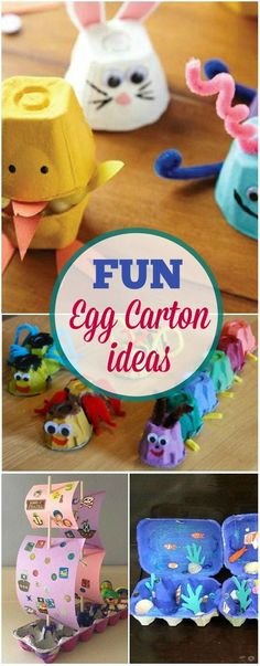 Till now you have only been using color papers or charts to create beautiful crafts, right? How about using empty egg cartons instead? Unbelievable, isn't it? If you've been throwing away those empty egg cartons, maybe it's time to use them wisely.