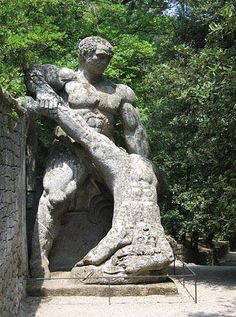 Curious Places: Park of the Monsters (Bomarzo/ Italy)