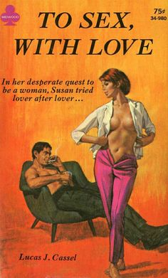 Midwood books, 1968. Cover art: Paul Rader