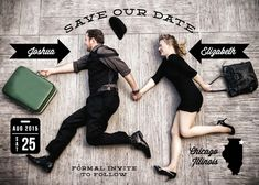bleed save the date photos - Google Search
