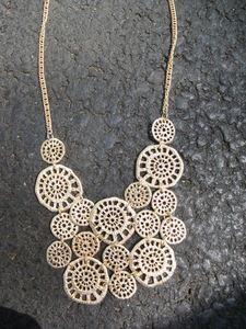 the crochet necklace...a classic  #winkandflip
