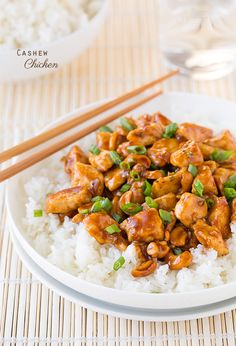 Cashew Chicken - Cooking Classy