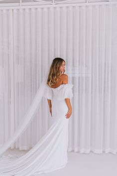 Meet the gorgeous Hazel by Emmy Mae. This minimal stunner will take your breath away. Hazel is made from a luxurious French crepe and hugs all the right places to make you feel like the sexiest girl in the room. Make You Feel, That Look, How To Make, Hugs, Big Day, Minimal, White Dress, Meet, French